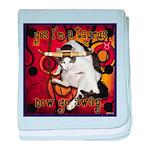 Cat Taurus baby blanket