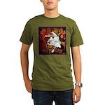 Cat Taurus Organic Men's T-Shirt (dark)