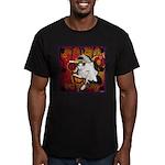 Cat Taurus Men's Fitted T-Shirt (dark)