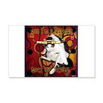Cat Taurus 22x14 Wall Peel