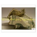 World $halupa Organization (Small Poster)