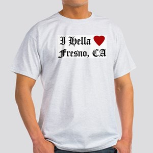 Hella Love Fresno Ash Grey T-Shirt