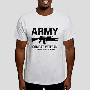 ARMY M4 Afghanistan Veteran Light T-Shirt