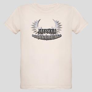 Jeffster (beard) Organic Kids T-Shirt