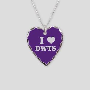 I Heart Dwts Necklace Heart Charm