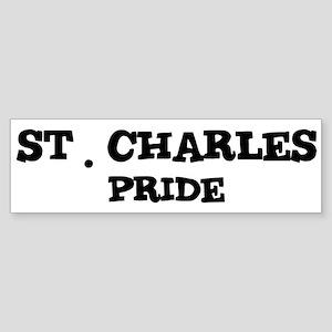 St. Charles Pride Bumper Sticker