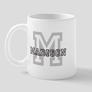 Letter M: Madison Mug
