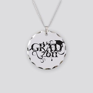 Fancy Grad 2011 Necklace Circle Charm