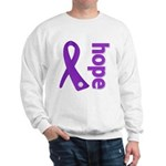 Hope Ribbon Alzheimers Sweatshirt
