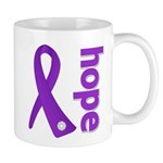 Hope Ribbon Alzheimers Mug
