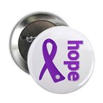 Hope Ribbon Alzheimers 2.25