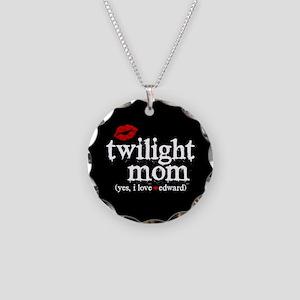 Twilight Mom Necklace Circle Charm