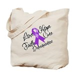 Hope Cure Alzheimers Tote Bag