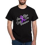 Hope Cure Alzheimers Dark T-Shirt
