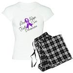 Hope Cure Alzheimers Women's Light Pajamas