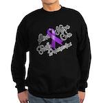 Hope Cure Alzheimers Sweatshirt (dark)