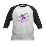 Hope Cure Alzheimers Kids Baseball Jersey