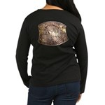 WY Centennial Women's Long Sleeve Dark T-Shirt