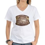 WY Centennial Women's V-Neck T-Shirt