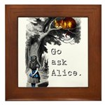 Go Ask Alice Framed Tile