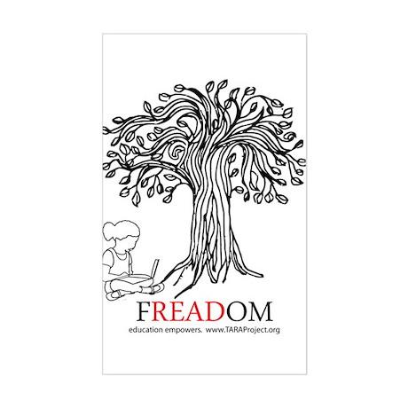Freadom Sticker (Rectangle)