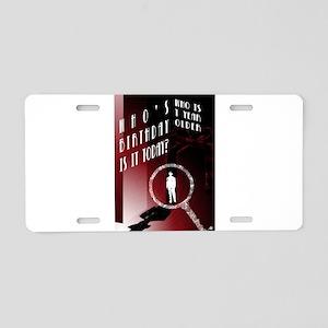 Detective Aluminum License Plate