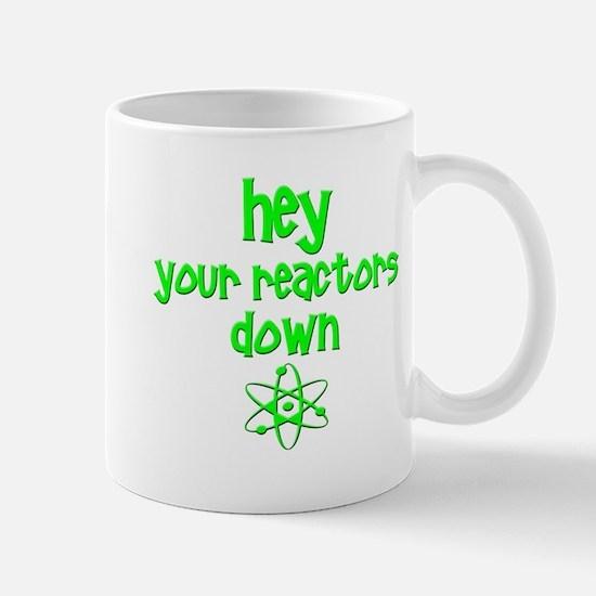 funny nuclear reactor Mug