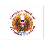 Untamed WY Spirit Small Poster