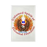 Untamed WY Spirit Rectangle Magnet (100 pack)