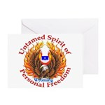 Untamed WY Spirit Greeting Card