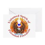 Untamed WY Spirit Greeting Card