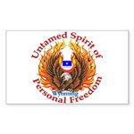 Untamed WY Spirit Sticker (Rectangle)