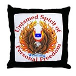 Untamed WY Spirit Throw Pillow