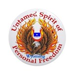 Untamed WY Spirit Ornament (Round)