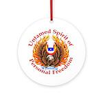 Untamed WY Spirit Ornament (Round)