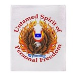 Untamed WY Spirit Throw Blanket