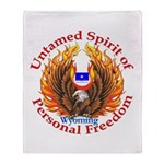 Untamed WY Spirit Throw Blanket