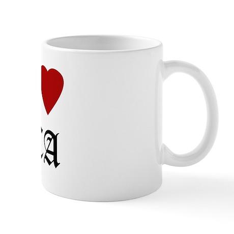 Hella Love Davis Mug