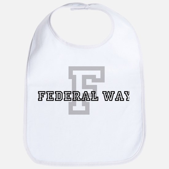 Letter F: Federal Way Bib