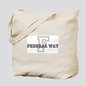 Letter F: Federal Way Tote Bag