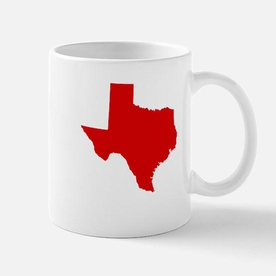 Red Texas Mug