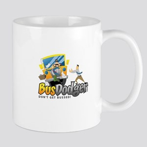 busdodgerlogo Mugs