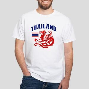 Thailand White T-Shirt