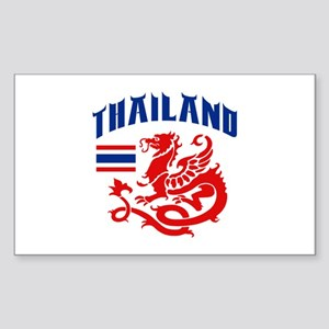 Thailand Sticker (Rectangle)