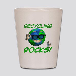 Recycling Rocks! Shot Glass