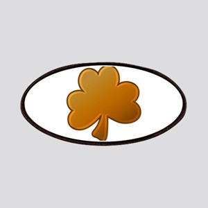 Lucky Orange Clover Patches
