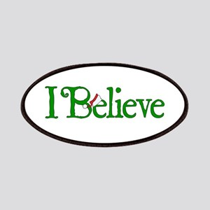 I Believe with Santa Hat Patches