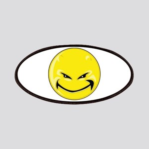 Smiley Face - Yellow Devil Patches
