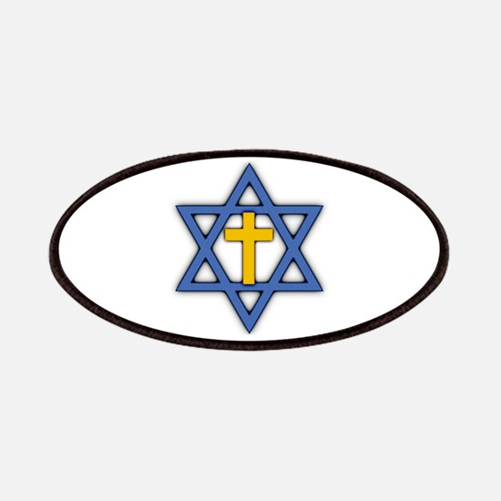 Star of David with Cross Patches