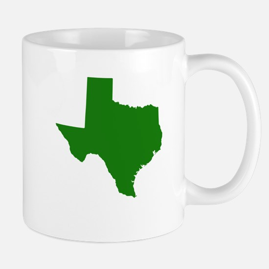 Green Texas Mug